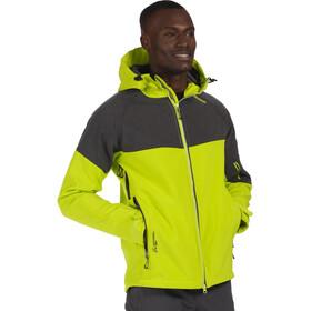 Regatta Hewitts III Softshell Jacket Men Lime Green/Seal Grey Reflective